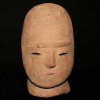 埴輪 男子頭部