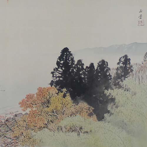 日本画 川合玉堂