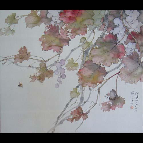 日本画 松林桂月