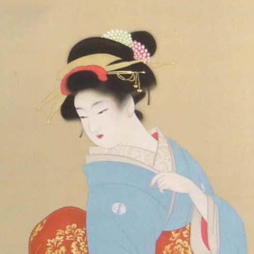 日本画 上村松園